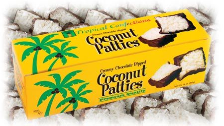 Key Lime and Original Chocolate Dipped Coconut Patties